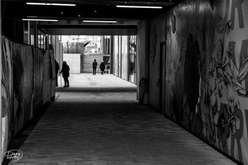 Tilburg, grafity + ouderew wandelaars